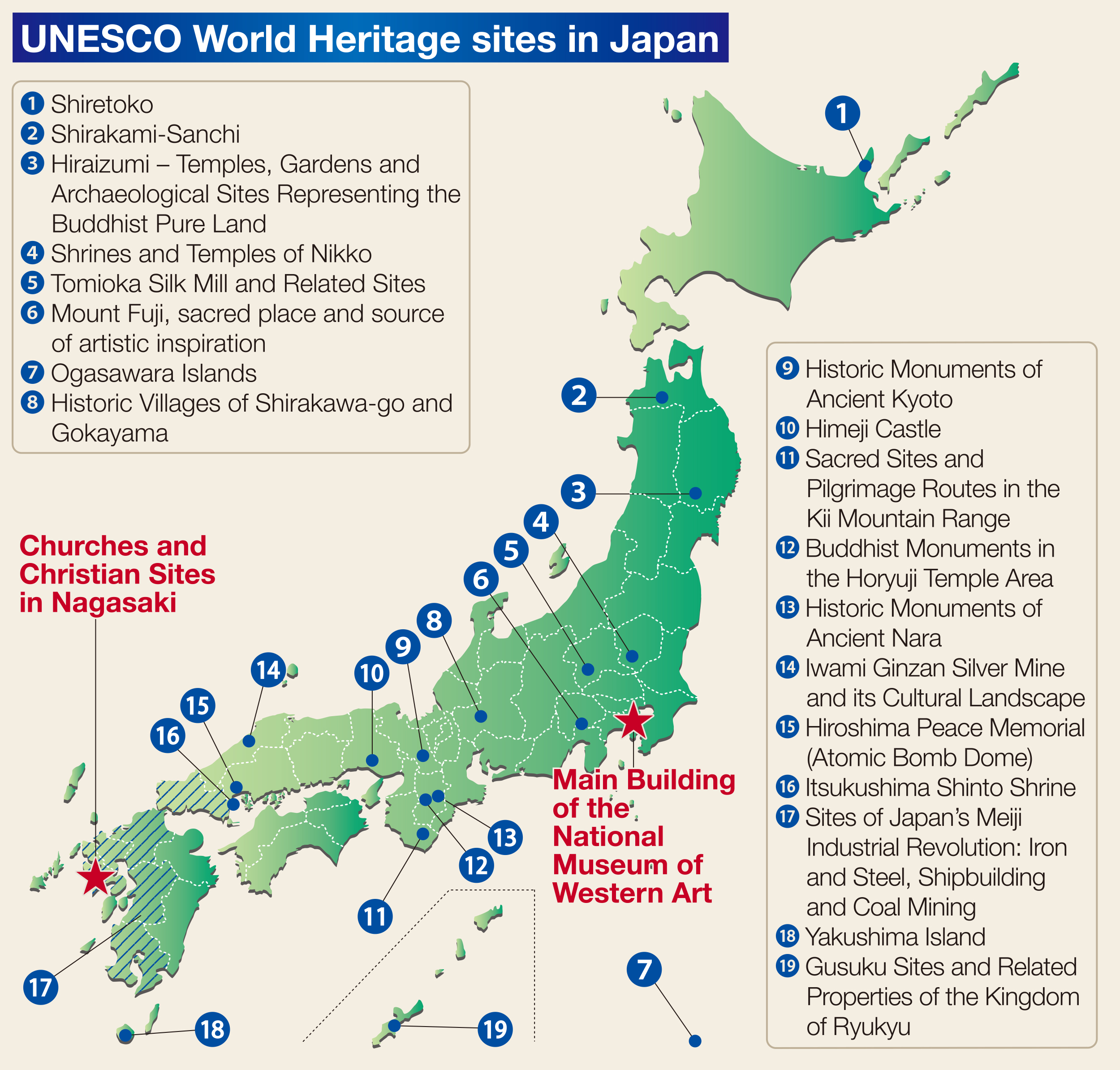 World heritage sites in japan the japan times for World heritage site list