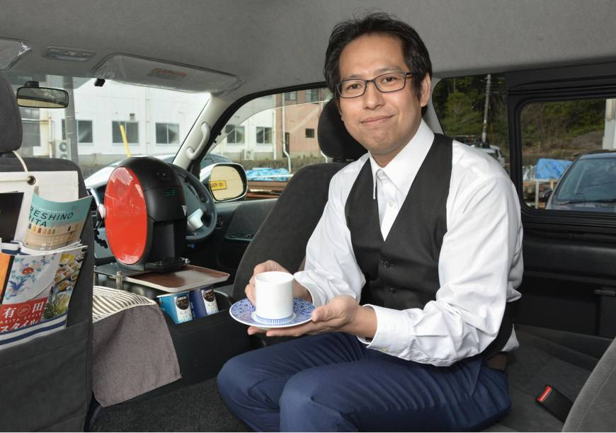 Coffee perk offered to Arita Taxi customers