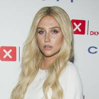 Message of support: Pop star Kesha attends the Delete Blood Cancer gala last year. The 28-year-old singer has recently sought to get out of a contract with a producer whom she accuses of sexually assaulting her. | AP