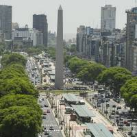 The Obelisco de Buenos Aires, a sight you're sure to see on your Argentinian getaway. Spend the afternoon at the Latin American Art Museum browsing its collection of contemporary works. | BLOOMBERG