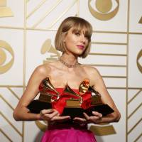 Taylor Swift wins top Grammy Award, Kendrick Lamar takes home five