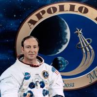 Apollo astronaut Edgar Mitchell was one of only 12 men to walk on the moon. | REUTERS