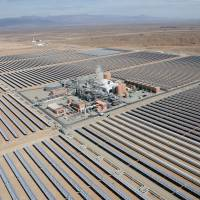 Morocco switches on giant Saharan solar plant in ambitious energy push