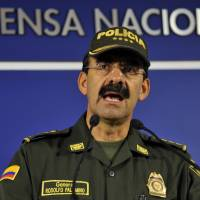 Colombia police chief resigns amid gay sex scandal