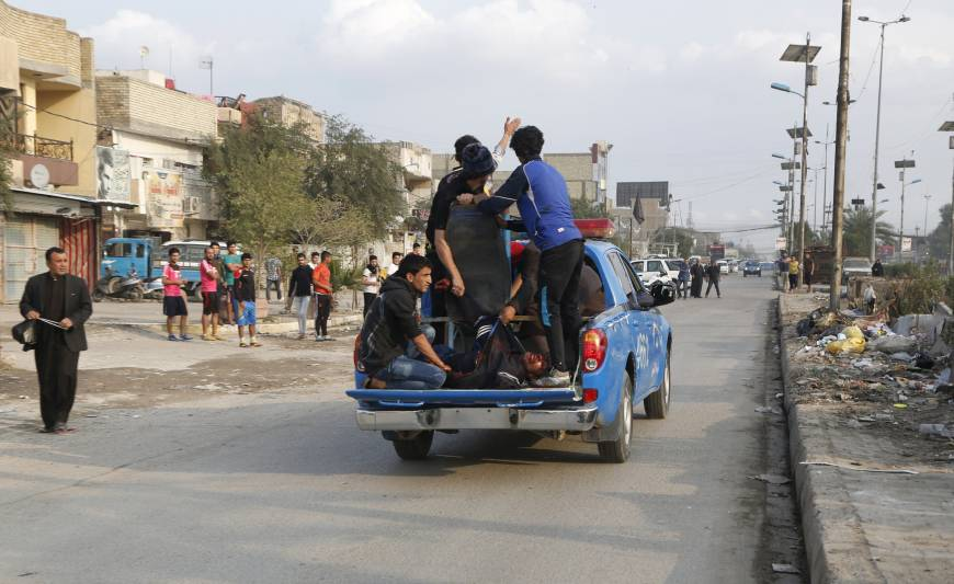 70 killed in Islamic State suicide blasts in Baghdad Shiite areas