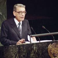 First U.N. chief from Africa Boutros Boutros-Ghali dies at 93