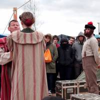 Syria unsafe so Globe brings Bard to Calais refugee camp, stages 'Hamlet'
