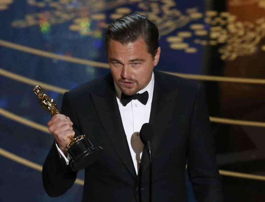 DiCaprio finally takes home some Oscar gold