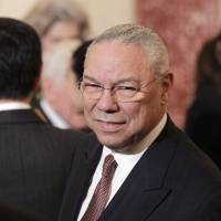 Former Secretary of State Colin Powell is seen at the State Department in Washington in 2011. | AP
