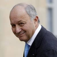 French Foreign Affairs Minister Laurent Fabius arrives at the Elysee Palace in Paris on Feb. 8. | REUTERS