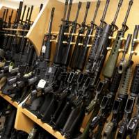 The gun library at the National Tracing Center in Martinsburg, West Virginia, is seen on Dec. 15. The facility, run by the Bureau of Alcohol, Tobacco, Firearms and Explosives, is the United States' only gun crime tracing facility. | REUTERS