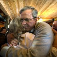 Jeb Bush struggles to win hearts in New Hampshire ahead of primary critical to his campaign