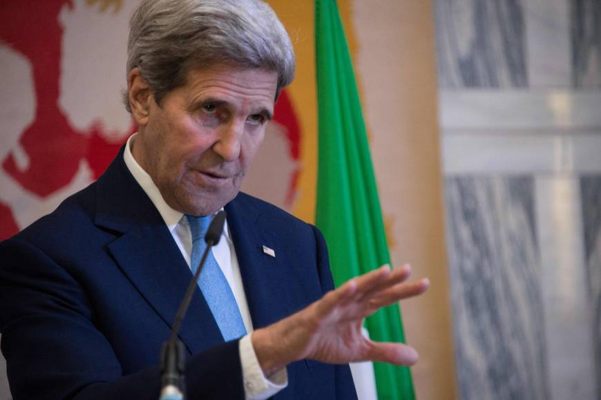 Islamic State's Iraq, Syria stakes shrinking but oil-rich Libya another story: Kerry