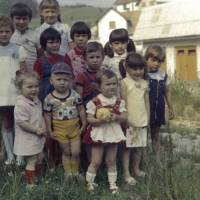 Melanija Knavs (second from right), now known as Melania Trump, poses with friends during a birthday celebration in the Slovenian town of Sevnica in this undated photo provided by childhood friend Diana Kosar. | AP