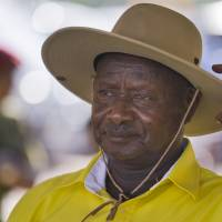 Uganda's Yoweri Museveni wins disputed polls; rival detained