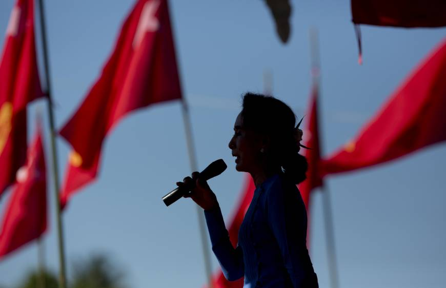 As new era dawns in Myanmar, some question Suu Kyi leadership