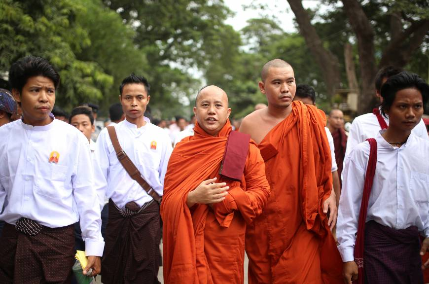 Firebrand monks are powerful force in Myanmar despite setback in elections