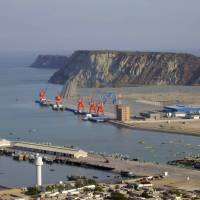 Pakistan's Gwadar port on the Arabian Sea is seen in this file image from 2007. China is constructing a deep-water facility at the site. | REUTERS