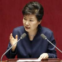 South Korean leader Park says time to play hardball with North