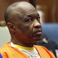 Lonnie David Franklin Jr. appears at a Feb. 6 hearing in Los Angeles Superior Court. More than 30 years since the bodies of young women started turning up in alleyways and garbage bins in south Los Angeles, attorneys are set to give opening statements Tuesday in the long-awaited 'Grim Sleeper' trial. | AP