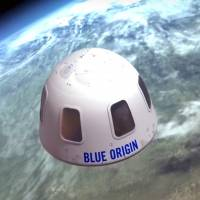 The Blue Origin capsule will be used to take tourists into space. | AP