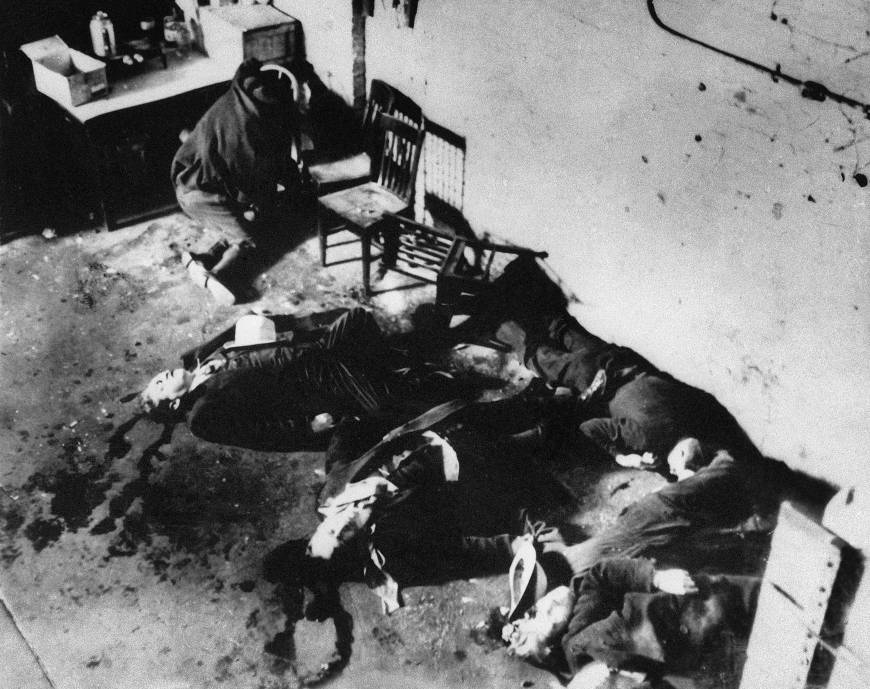 Autopsy reports found from 1929 Valentine's Day massacre in Chicago