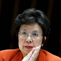 WHO Director-General Margaret Chan attends a meeting of the executive board in Geneva on Jan. 25. | REUTERS
