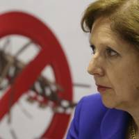 U.S. Ambassador to Brazil Liliana Ayalde attends a meeting on measures taken to combat the mosquito that carries the Zika virus, at the Pan American Health Organization headquarters in Brasilia Thursday. | AP