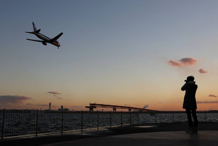 U.S., Japan reach deal on more international flight slots at Haneda airport