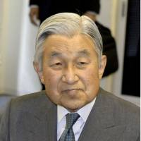 Emperor diagnosed with influenza