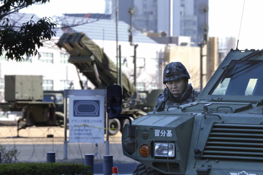 Japan to upgrade missile interception system, considers three-tier defense