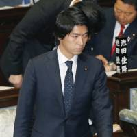 Japan's 'paternity leave' LDP lawmaker embroiled in adultery allegations