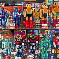 Vintage toys are among items sold at Mandarake stores in the Nakano Broadway complex. | YOSHIAKI MIURA