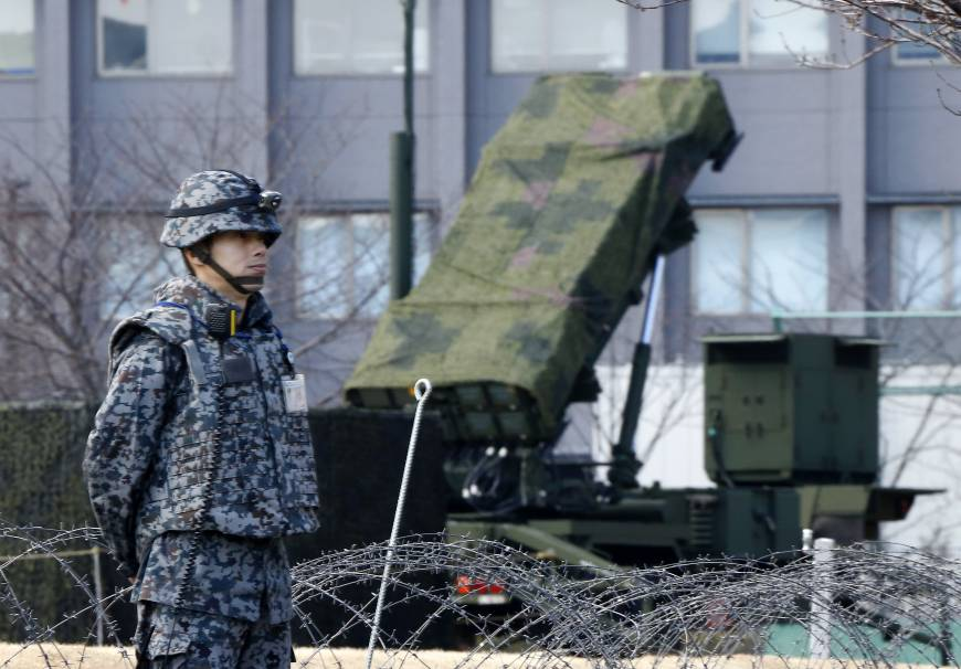 Tokyo orders SDF to shoot down North Korean missile if threat to Japan