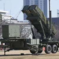 Japan, U.S., South Korea defense officials discuss North's launch plans