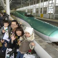 Hopes high for Hokkaido bullet train