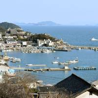 The scenic port of Tomonoura in Fukuyama, Hiroshima Prefecture, is seen last Wednesday. | KYODO