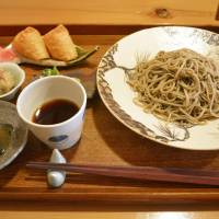 Noodle variation: The soba lunch set at Muraki comes with either juwari noodles (above) made from pure buckwheat or a lighter variety made from a combination of buckwheat and wheat flour, which is similar to vermicelli. | J.J. O'DONOGHUE