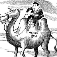 China's new role as a Middle East peacemaker