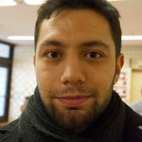 Tolga Ermis, Intern, 26 (German): My Japanese is not so good yet, so I'm always mixing up the Japanese for left and right, which causes confusion. Apparently, I'm also not good at pronouncing itadakimasu (said before eating) and gochisō-sama deshita (said after eating), but I am not sure if that is a linguistic gaffe. Hopefully it will come with time.