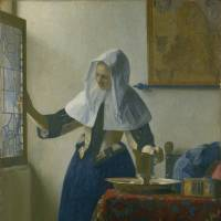 Johannes Vermeer's 'Young Woman with a Water Pitcher' (ca. 1662). | MARQUAND COLLECTION, GIFT OF HENRY G. MARQUAND, 1889 (89.15.21), © THE METROPOLITAN MUSEUM OF ART. IMAGE SOURCE: ART RESOURCE, NY