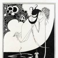 Aubrey Beardsley's 'The Climax' | A PORTFOLIO OF AUBREY BEARDSLEY'S DRAWINGS ILLUSTRATING SALOME BY OSCAR WILDE PRIVATE COLLECTION, TOKYO