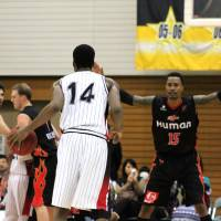 Brave Warriors down B-Corsairs to keep playoff hopes alive