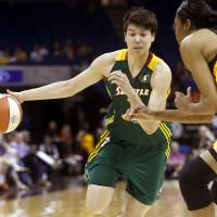 Tokashiki reaches deal to remain with WNBA's Storm