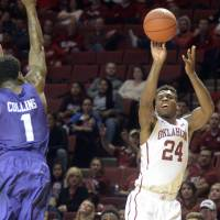 Oklahoma's Buddy Hield, a Wooden Award candidate,  is one of the top players in college basketball this season. | USA TODAY / REUTERS