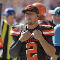 Browns deny lying about Manziel concussion