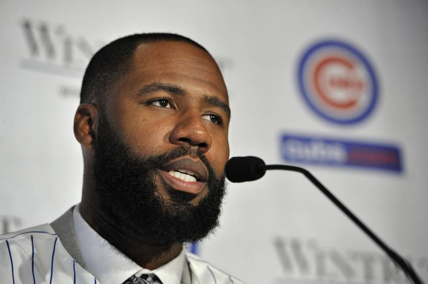 Heyward makes good first impression with Cubs