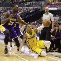 George delivers in crunch time for Pacers