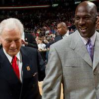 Longtime NBA coach Johnny Bach, who passed away Jan. 18 at the age of 91, was so admired by Michael Jordan that the star once bought him a Rolls-Royce. | COURTESY OF CHICAGO BULLS