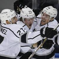 Pearson scores in OT as Kings top Rangers